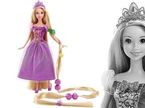 Рапунцель, Принцессы Диснея Игра с модой в магазине игрушек Магия кукол