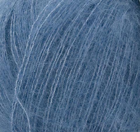 Пряжа Silk Mohair (Силк Мохер). Цвет: серо-синий. Артикул: 6034