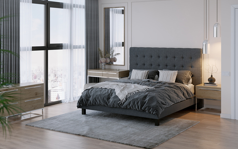 Кровать Proson Madrid Boxspring Elite с пружинным блоком Bonnel