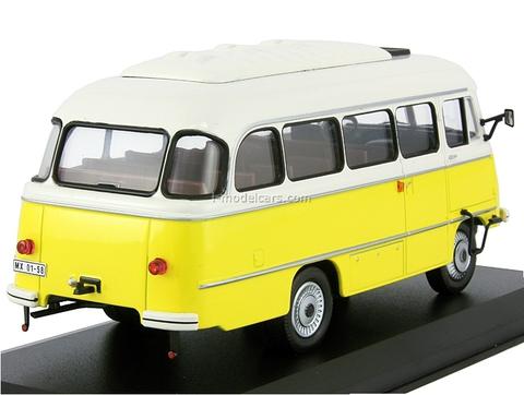 Robur LO 3000 Fr 2 M-B 21 white-yellow 1972 IST177T IST Models 1:43