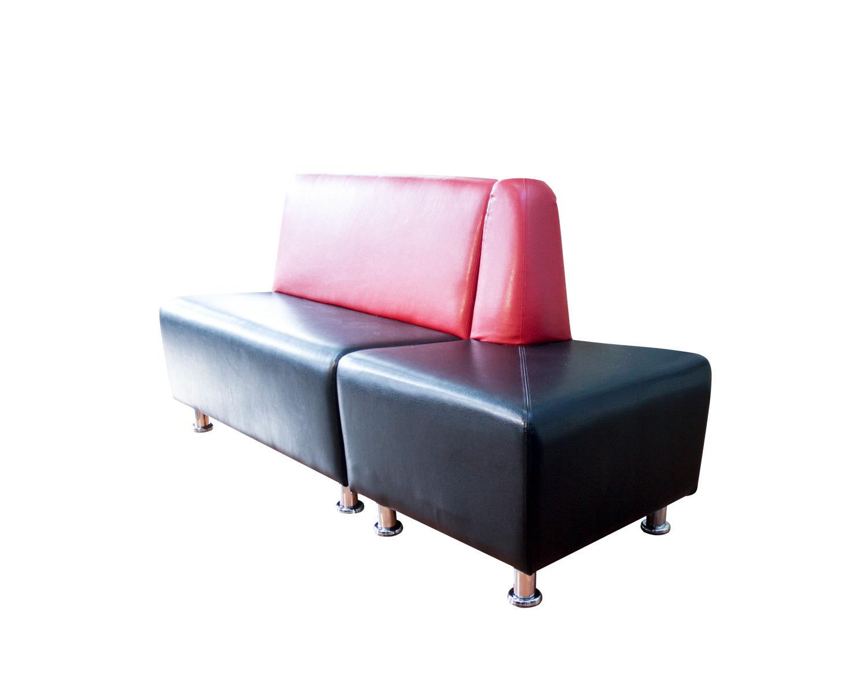 Комбинация из 2-местного дивана и открытого угла Дели