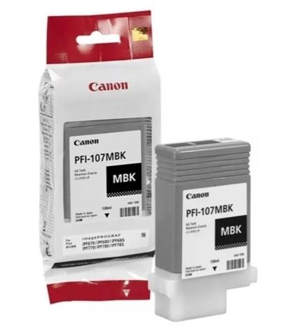 Картридж Canon PFI-107MBK 6704B001 матовый черный