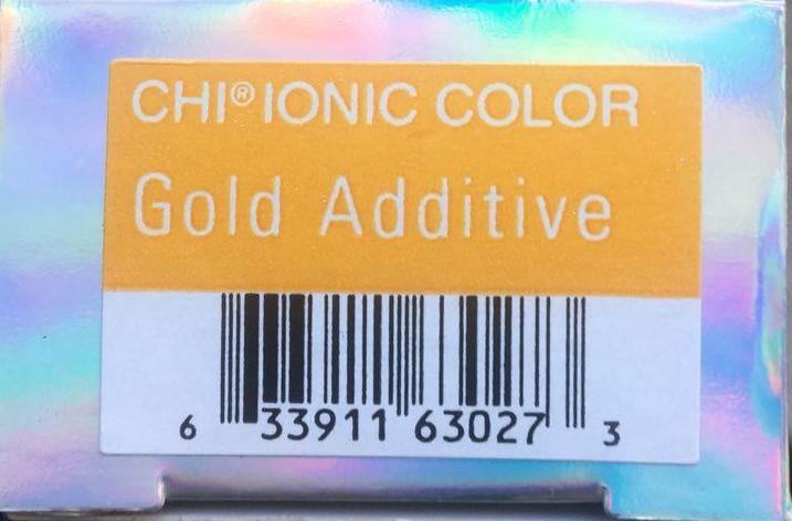 Крем-краска CHI Ионик цв  добавка золото 85 гр