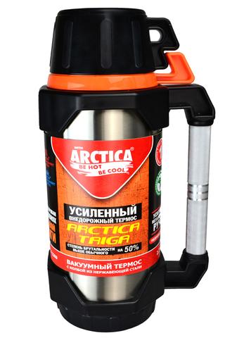 Термос Арктика (2,2 литра) с узким горлом классический, стальной