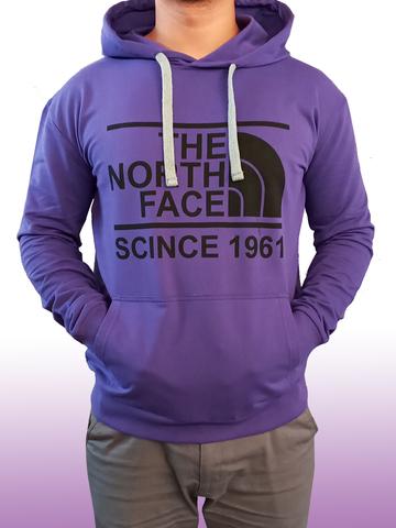 Толстовка худи The North Face  (унисекс) двух нитка