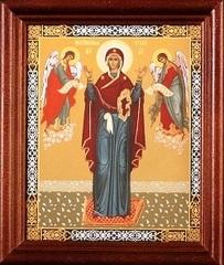 Икона Божией Матери Нерушимая стена (в рамке)