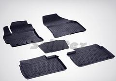 Резиновые коврики для Corolla (c 2013), высокий борт