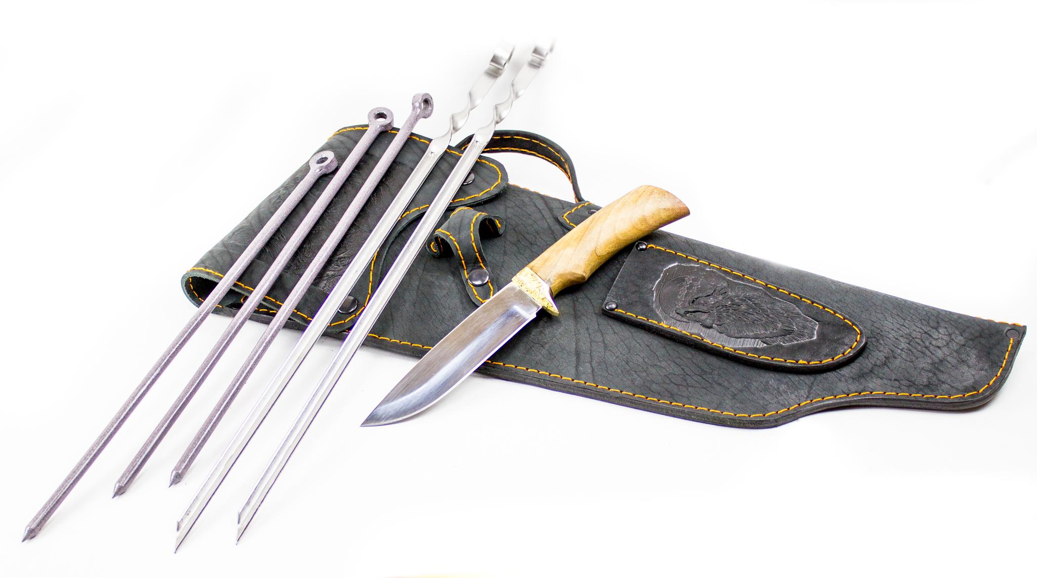 Шашлычный набор «Шашлычный-5» шашлычный набор кавказ 2 кизляр премиум