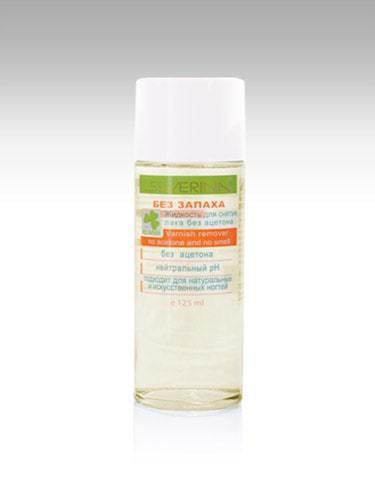 Жидкость для снятия лака «Без запаха» без ацетона (стекло), 120 мл SEVERINA
