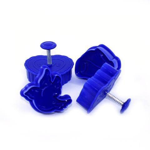 7584 FISSMAN Мини-формы для вырезания теста 4 шт,  купить