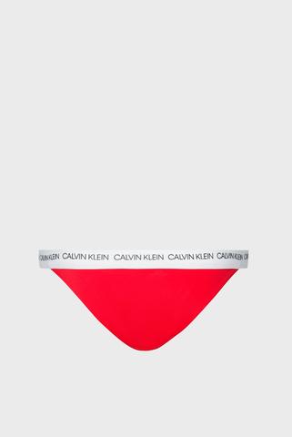 Женские красные трусики от купальника Calvin Klein