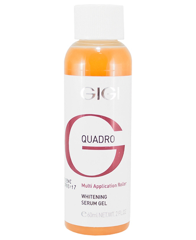 Gigi Quadro Multi-Application Whitening Serum Gel, Сыворотка отбеливающая, 60 мл.
