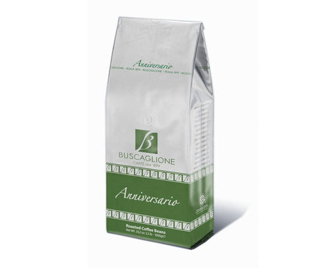 Кофе в зернах Buscaglione Anniversario, 1 кг (Бускальоне)
