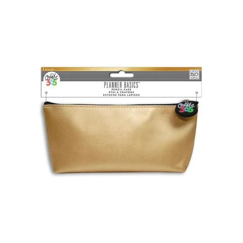 Пенал Create 365 Happy Planner Pencil Pouch - Gold