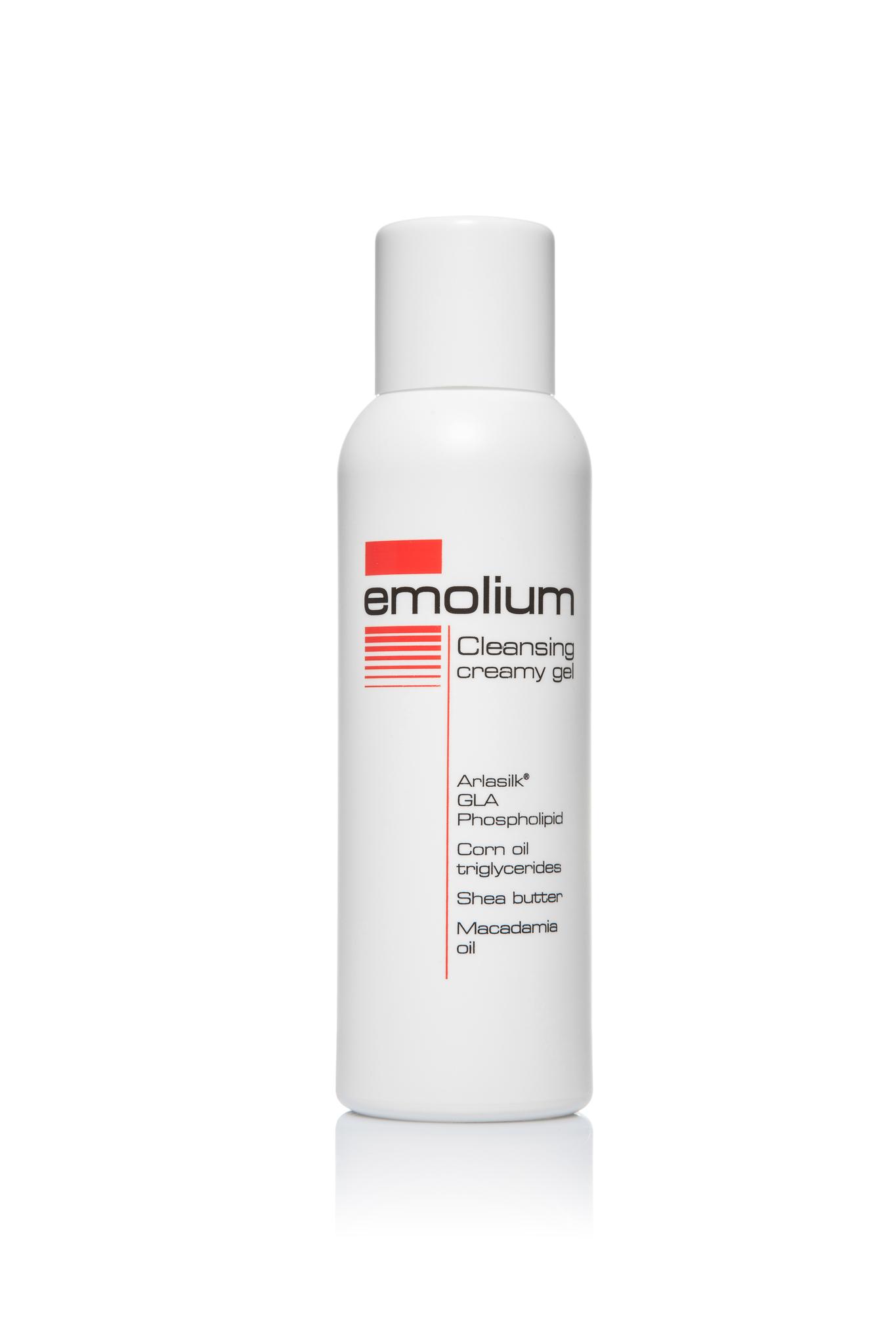 Эмолиум кремовый гель для мытья 200 мл.
