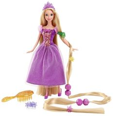 Кукла Рапунцель, Принцессы Диснея Игра с модой