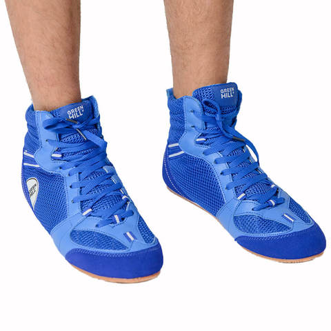 Обувь для бокса низкая Green Hill