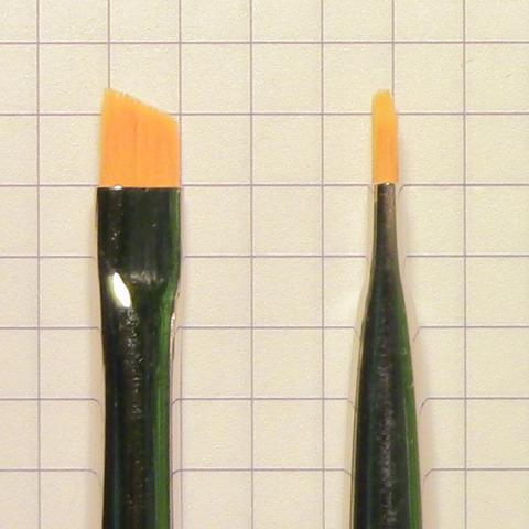 Кисть для нанесения краски для бровей №6 (301971006)