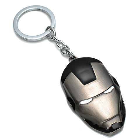 Брелок Железный человек маска