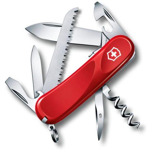 Нож перочинный Victorinox Evolution S13 (2.3813.SE) 85мм 14функций красный