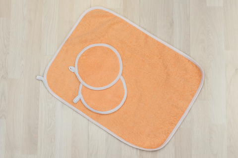 Набор кухонный махровый полотенце+2 прихватки