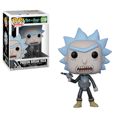 Фигурка Funko POP! Vinyl: Rick & Morty: Prison Escape Rick 28450