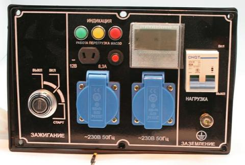 Панель контрольная DDE DPG7201i генератора (7201-9900-0154)