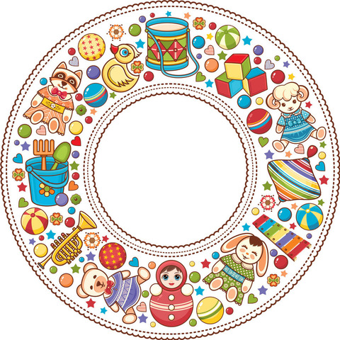 Печать на вафельной бумаге, Детский праздник 1