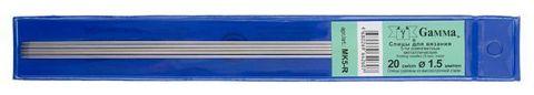 Спицы Гамма 5-ти компл. MK5 металл d 1,5 мм 20 см