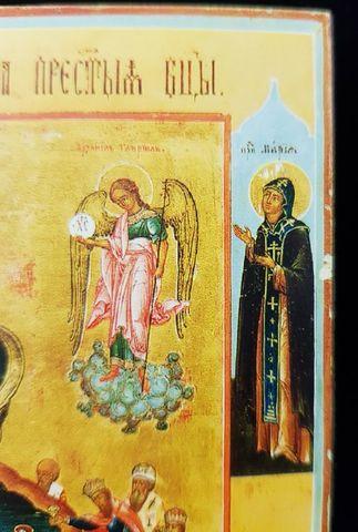 Икона Богородицы Живоносный источник на дереве на левкасе мастерская Иконный Дом