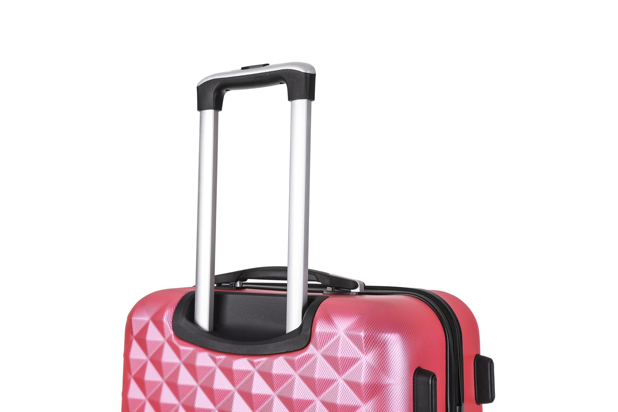 Чемодан со съемными колесами L'case Phatthaya-28 Розовый (L)