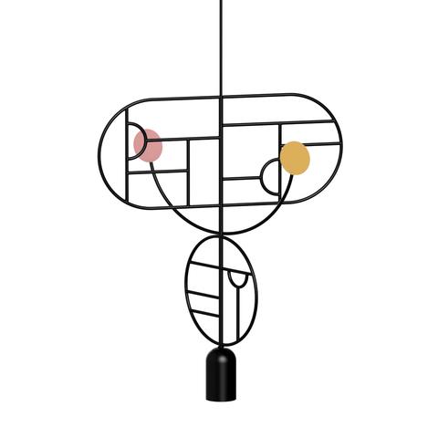 Подвесной светильник копия Lines & Dots LDS07 by Home Adventures