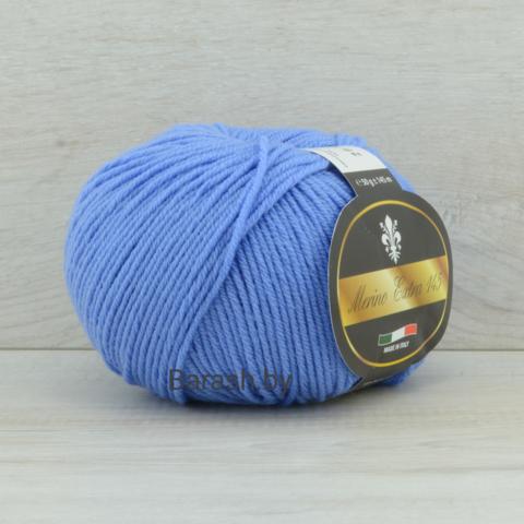 Пряжа Merino Extra 145 (Мерино экстра 145) Темно-голубой