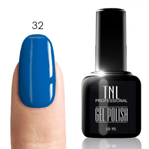 TNL Classic TNL, Гель-лак № 032 - сапфир (синий)(10 мл) 32.jpg
