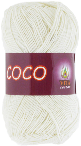 Пряжа Vita Coco 3853 молочный