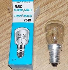 Лампочка холодильника 25w E14