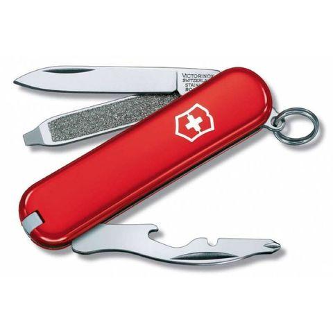Нож Victorinox (0.6163) Rally 58мм 9 функций красный
