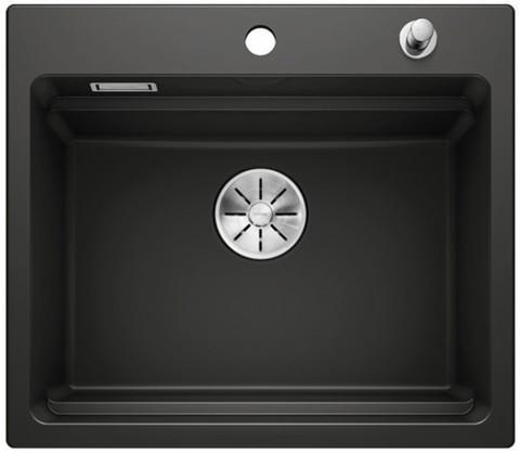 Кухонная мойка Blanco Etagon 6 Ceramic PuraPlus, чёрный