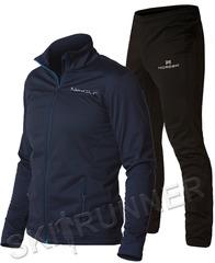 Утеплённый лыжный костюм Nordski Motion Base BlueBerry/Black мужской
