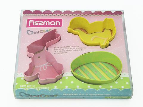 8569 FISSMAN Формы для вырезания печенья 3 шт,  купить