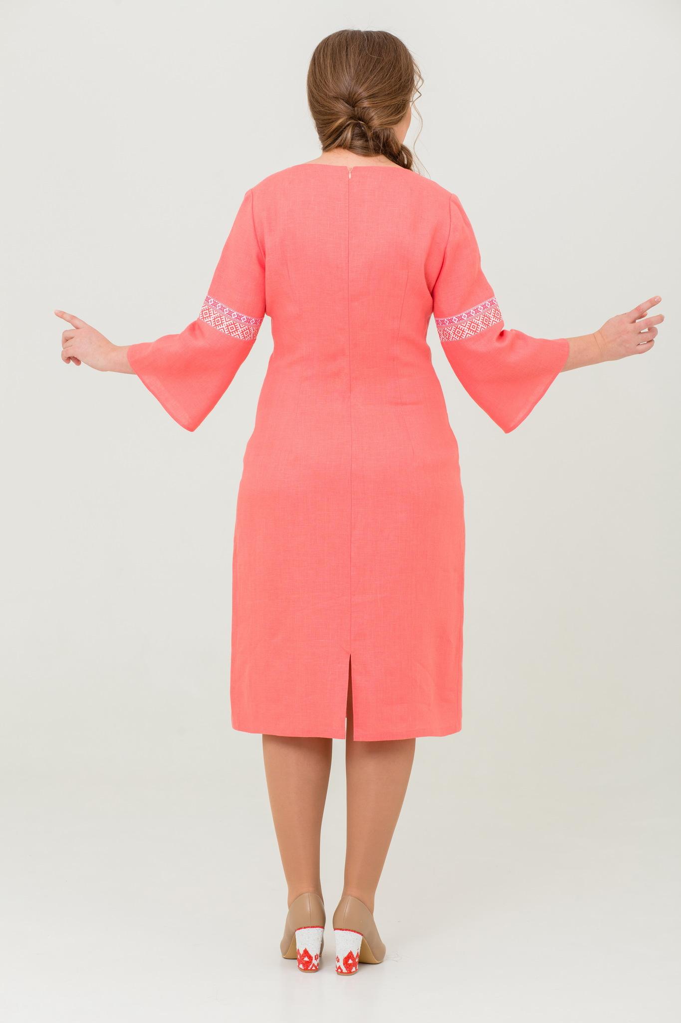 Платье льняное Царевна-лебедь купить