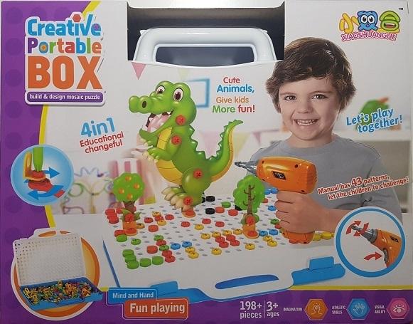 Игрушки для детей Конструктор с шуруповертом 198 дет. konstruktor-198detalei.jpg