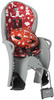Картинка велокресло Hamax Kiss Safety Package Grey/Red