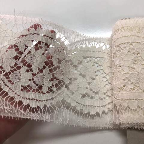 Кружево Шантильи cotton ecru