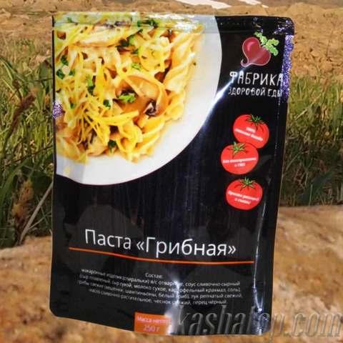 Паста 'Грибная' 'Фабрика здоровой еды', 250г