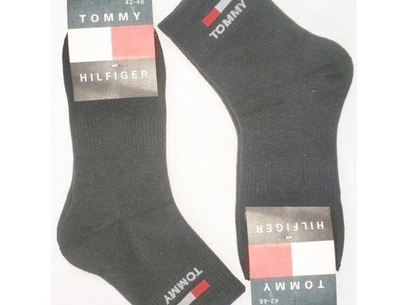 Мужские носки Tommy Hilfiger черные 2 шт.