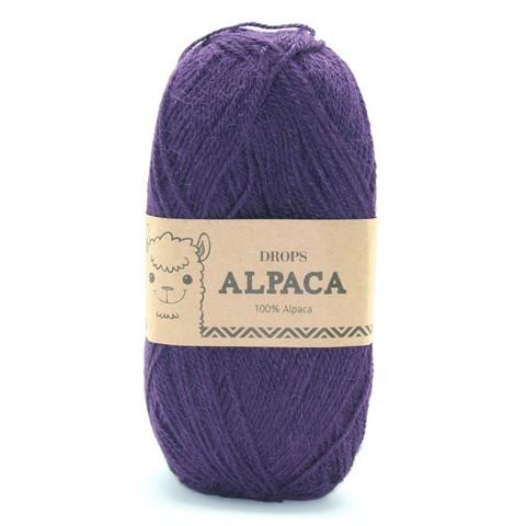 Пряжа Drops Alpaca 4400 фиолетовый