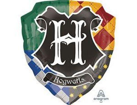 Фольгированный шар Гарри Поттер герб Хогвартса