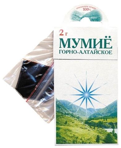 Мумиё (в пакете) 2 г (Зелёный доктор)