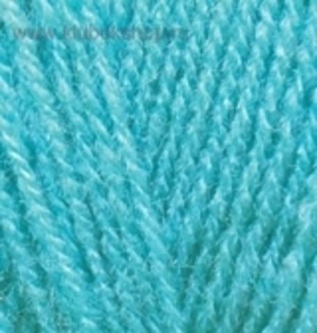 Пряжа Superlana TIG цвет 467 Светло-бирюзовый Alize